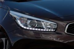 Auto hoofdlamp royalty-vrije stock foto