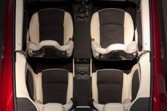 Auto hoogste mening Royalty-vrije Stock Afbeelding