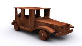 Auto houten wijnoogst Royalty-vrije Stock Fotografie