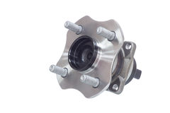 Auto hub bearing on a white Stock Photography