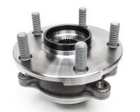 Auto hub bearing on a white. Background Royalty Free Stock Photos