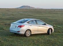 Auto-Hyundai-Akzent Stockfotografie