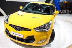 Auto 2013 Hyundais Veloster. Stockbilder