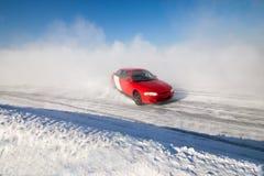 Auto ice racing Stock Photo