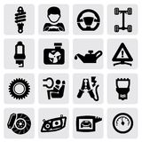 Auto icon Stock Images