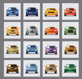 Auto icon Stock Photo