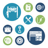 Auto icon vector Stock Photo