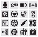 Auto icons Stock Photo