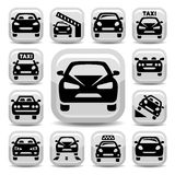 Auto icons Stock Photography