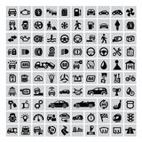 Auto icons Royalty Free Stock Photo