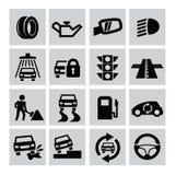Auto icons Stock Photos