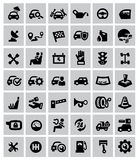 Auto icons Stock Images