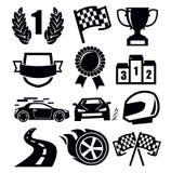 Auto icons Royalty Free Stock Photos