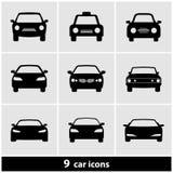 Auto-Ikonen-Satz Lizenzfreies Stockfoto