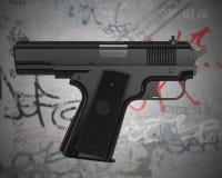 Auto-indicare pistola Immagine Stock Libera da Diritti