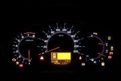 Auto Indicator Board Stock Image