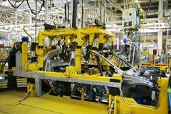Auto-industrie stock foto's
