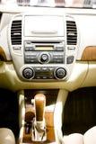 Auto-Innenraum Stockbild