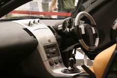 Auto-Innenraum lizenzfreie stockfotografie