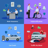 Auto Insurance Concept Stock Photography