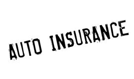 Auto Insurance rubber stamp Stock Photos