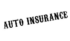 Auto Insurance rubber stamp Stock Images