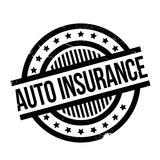Auto Insurance rubber stamp Royalty Free Stock Images