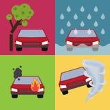 Auto insurance vector illustration Stock Photo