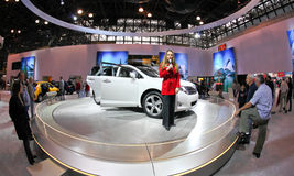 auto internationell ny show 2009 Arkivbild