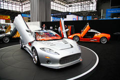 auto internationell ny show 2009 Arkivfoton
