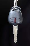 Auto keys. Car Keys, Objects Isolated On black background Royalty Free Stock Image