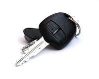 Auto keys. Car keys, objects isolated on white background Stock Images