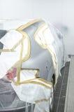 Auto klaar voor het schilderen Stock Afbeelding