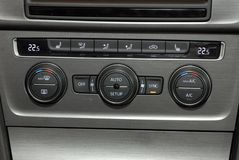 Auto-Klimaanlage Lizenzfreie Stockfotos