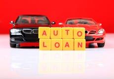 auto lån Royaltyfri Fotografi