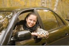 Auto lady Royalty Free Stock Photo