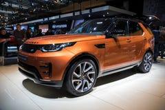 Auto Land-Rover Discoverys 4x4 SUV Lizenzfreie Stockfotos