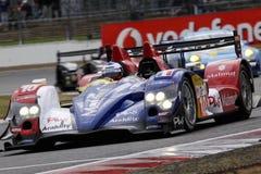 Auto-Laufen (Oreca 01-AIM, Mans-Serien) Stockfoto