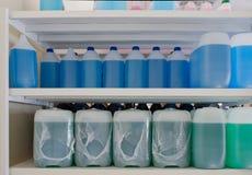Auto liquids Stock Images