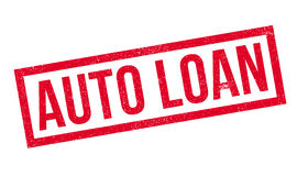 Auto Loan rubber stamp Stock Photography
