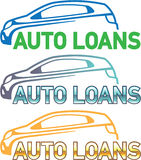 Auto Loan Vector Stock Images