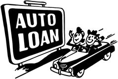 Auto Loans Royalty Free Stock Image