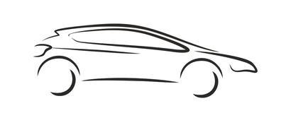 Auto-Logo Lizenzfreie Stockfotos