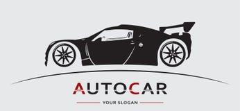 Auto Logo Abstract Lines Vector Vector illustratie vector illustratie