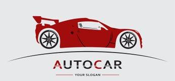 Auto Logo Abstract Lines Vector Vector illustratie stock illustratie