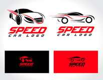 Auto Logo Design Royalty-vrije Stock Afbeeldingen