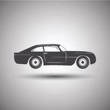 Auto Logo Design Vervoervector Stock Afbeelding