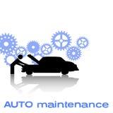Auto manutenção Imagem de Stock Royalty Free