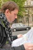 auto mapa Zdjęcia Royalty Free