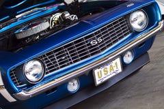 AUTO MARKT: 27 augustus Chevrolet SS Royalty-vrije Stock Afbeelding